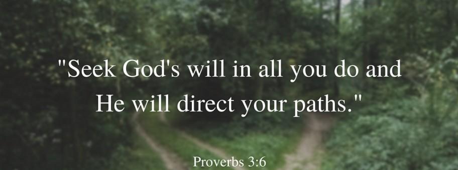 Proverbs 3-6