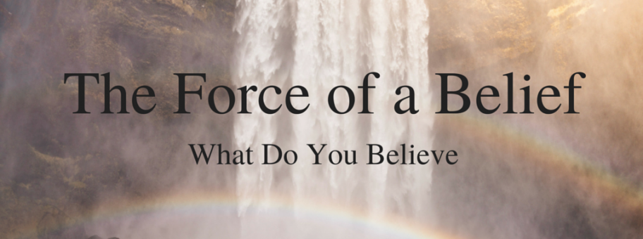 The Force of a Belief