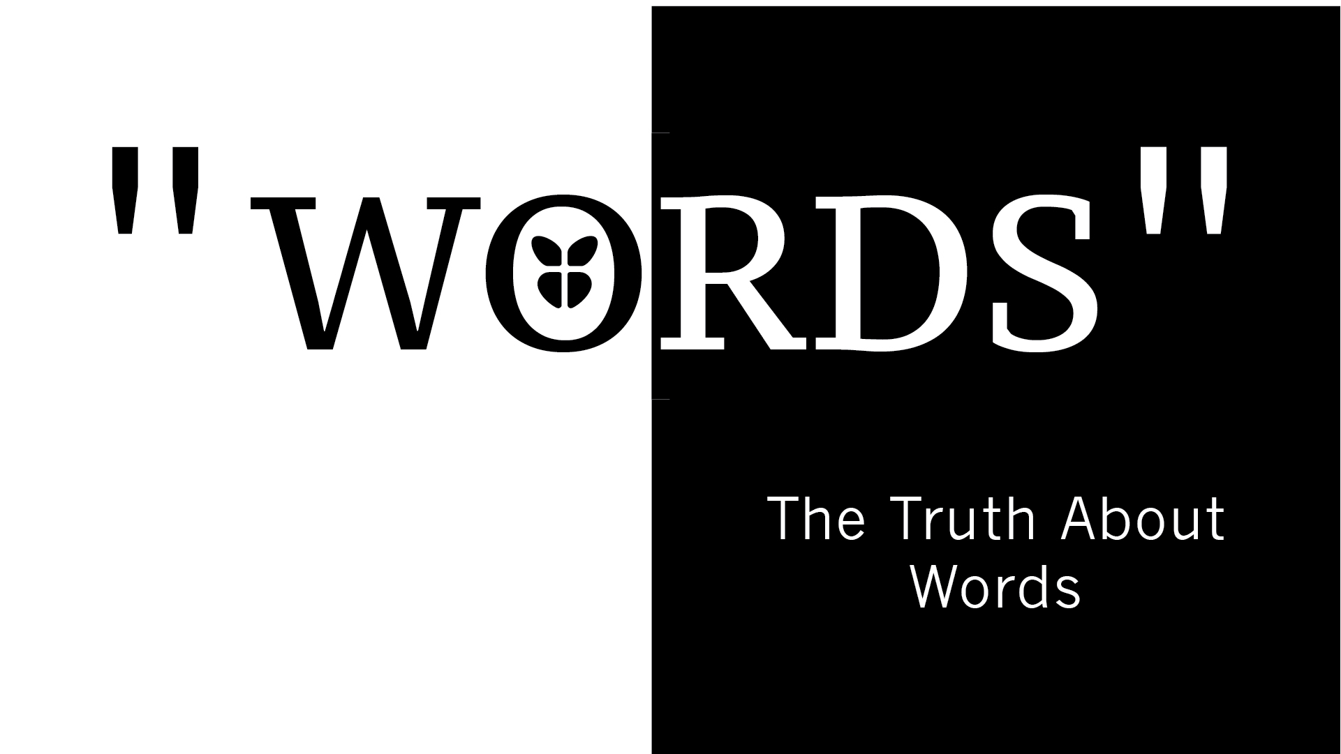Words Series Graphics_Projector Title Week 2