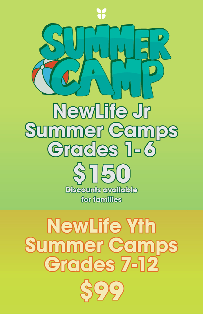 NewLife Summer Camps 2019 | New Life Christian Church