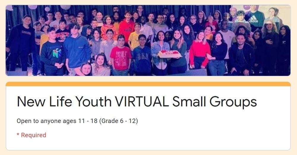 yth small groups