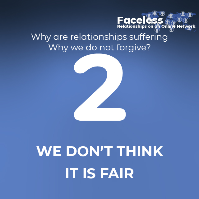 2- WE DON'T THINK IT IS FAIR