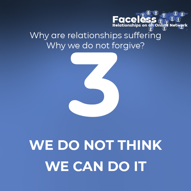 3- WE DO NOT THINK WE CAN DO IT