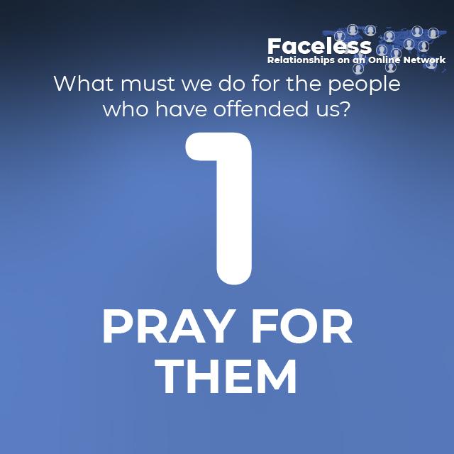 1- PRAY FOR THEM